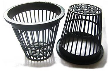 Black-Slotted-Mesh-Net-Pot-for-Hydroponics